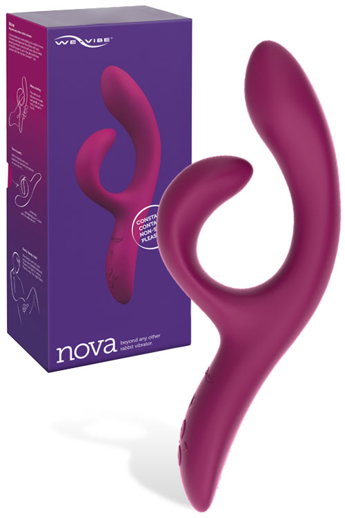 "Nova 2 Adjustable 8.5"" Rabbit Vibrator With App"